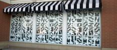 raamstickers glasfolies winkelpui