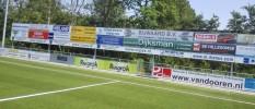 reclameborden voetbalveld stadion